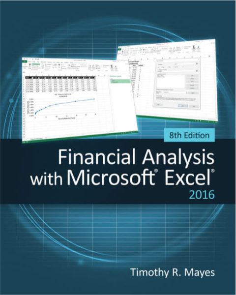 Financial Analysis with Microsoft Excel 2016