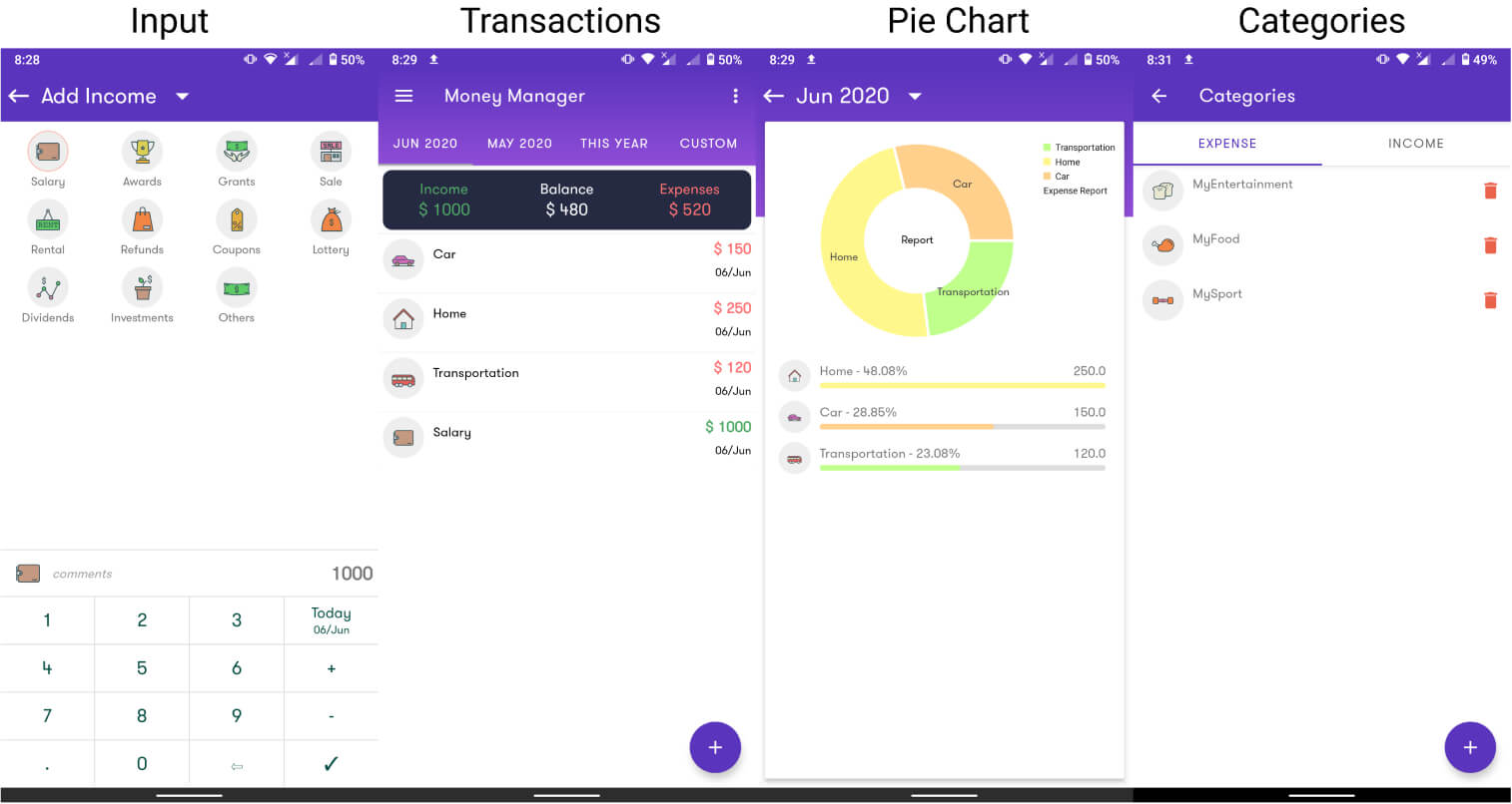 Money Manager: Expense Tracker