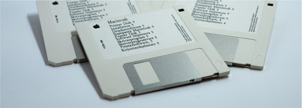 accounting software diskettes